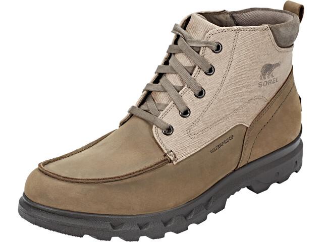 Sorel Portzman Moc Toe Chaussures Homme, major/concrete